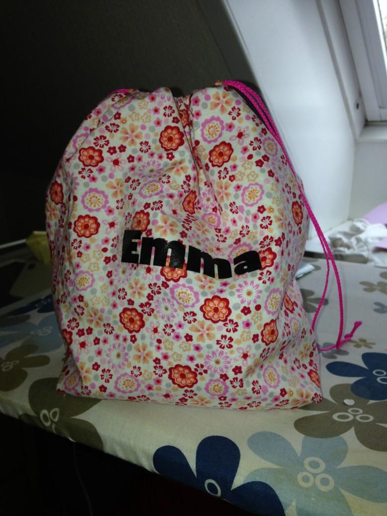 Bisserøv Frugtpose Emma Blomster